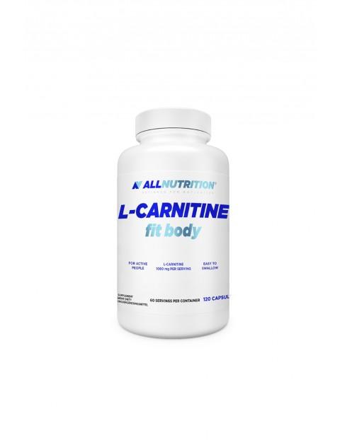 Suplementy diety - Allnutrition L-Karnityna - Spalacz tłuszczu - 120 kapsułek