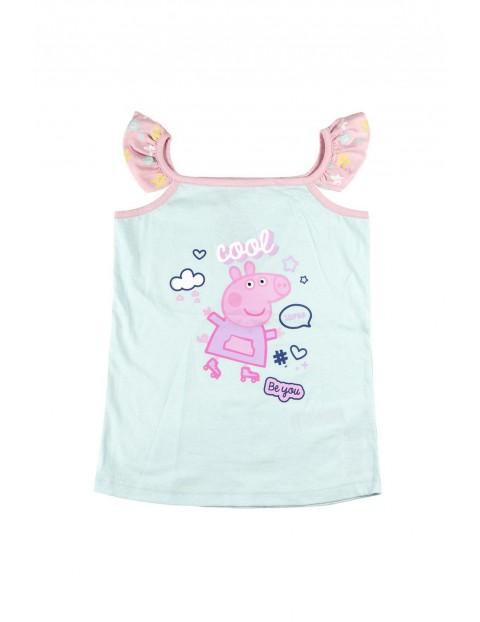 Piżama dziewczęca na ramiączkach Świnka Peppa