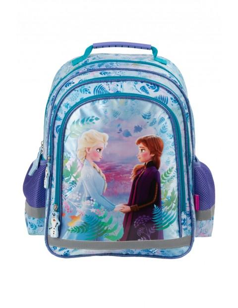 Plecak szkolny z odblaskami Kraina Lodu
