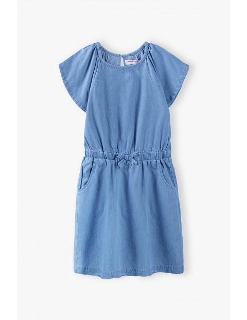 Sukienka dziecięca - niebieska