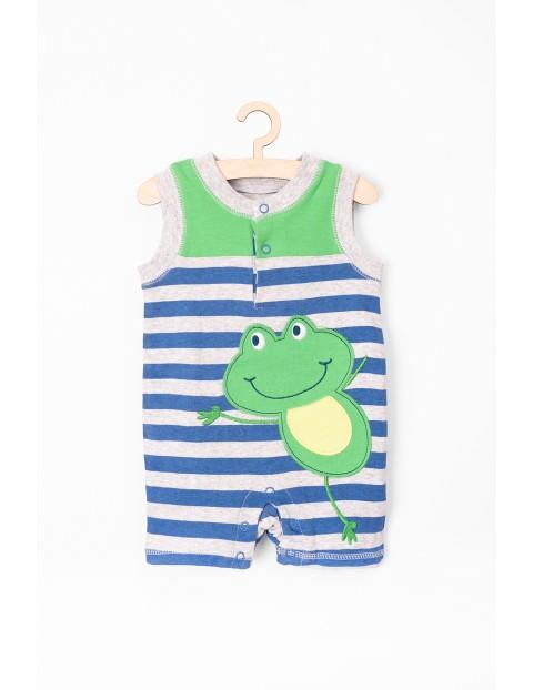 Rampers niemowlęcy-żaba