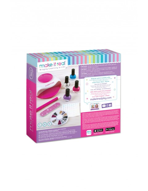 Make it real - Zestaw do manicure Nail Spa wiek 8+