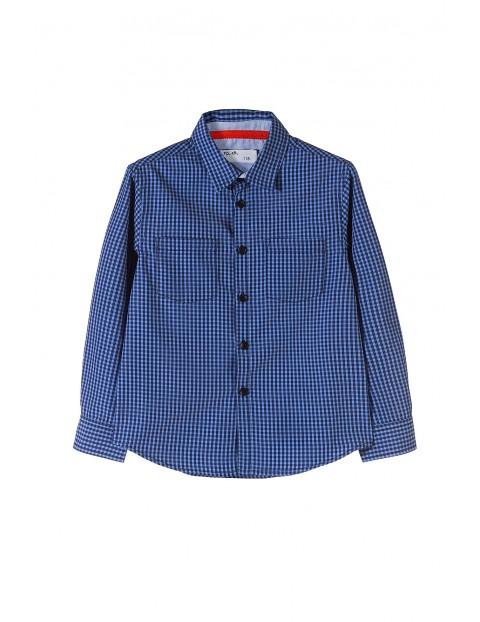 Koszula chłopięca w kratę 1J3512
