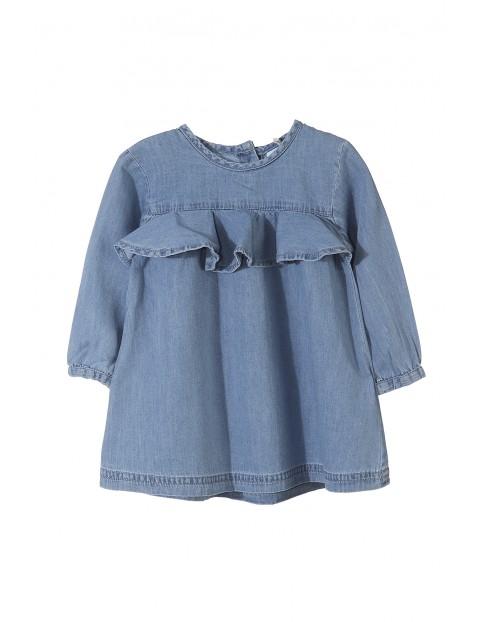 Sukienka niemowlęca 100% bawełna 5K3504