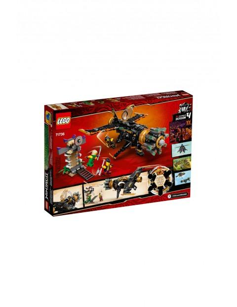LEGO Ninjago - Kruszarka skał - 449 el