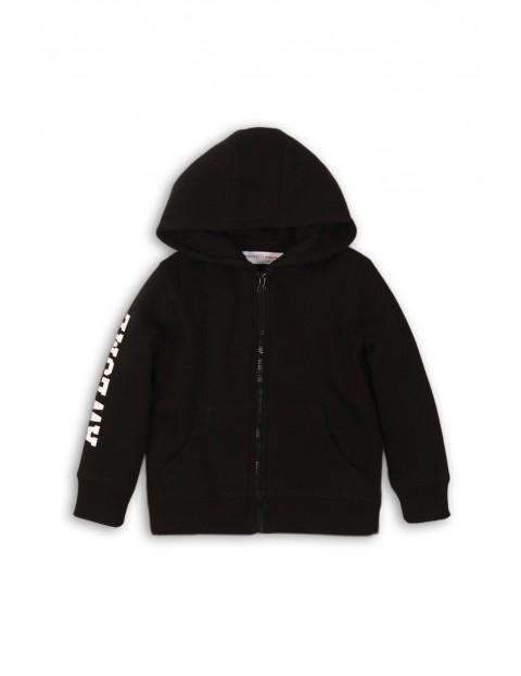 Bluza chłopięca dresowa-czarna