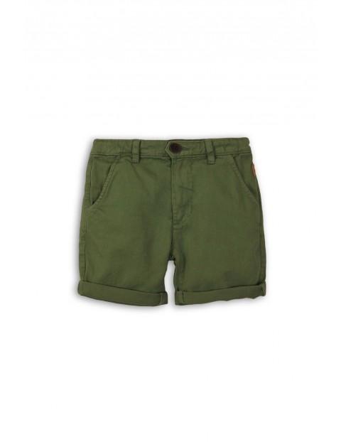 Zielone spodenki dla chłopca