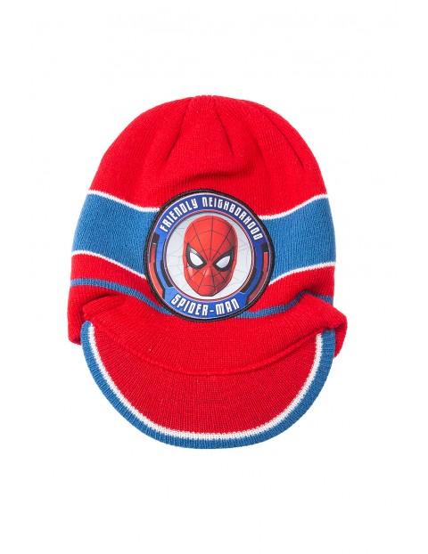 Czapka chłopięca Spiderman 1X35AD