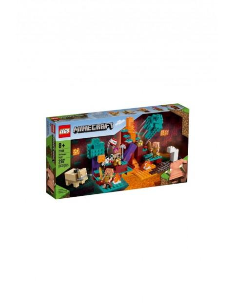 Klocki LEGO Minecraf - Spaczony las - 287 elementów wiek 7+