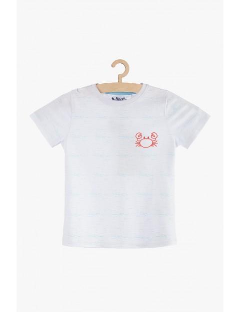 T-shirt chłopięcy na lato- 100% bawełna