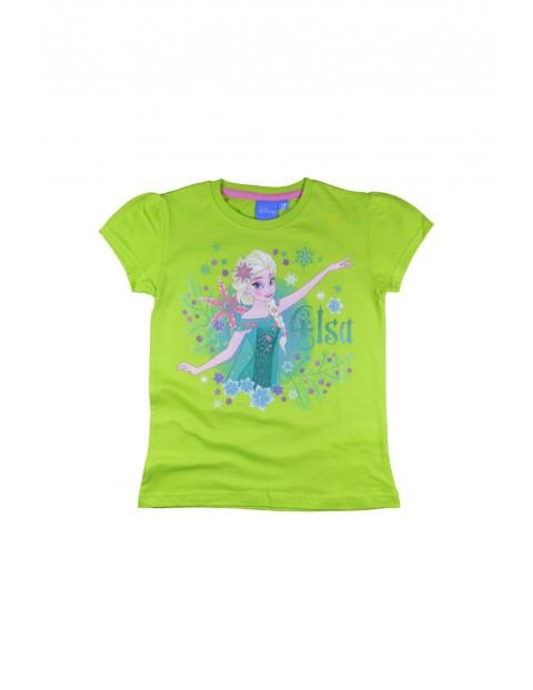 T-shirt dziewczęcy Kraina Lodu 3I34DM