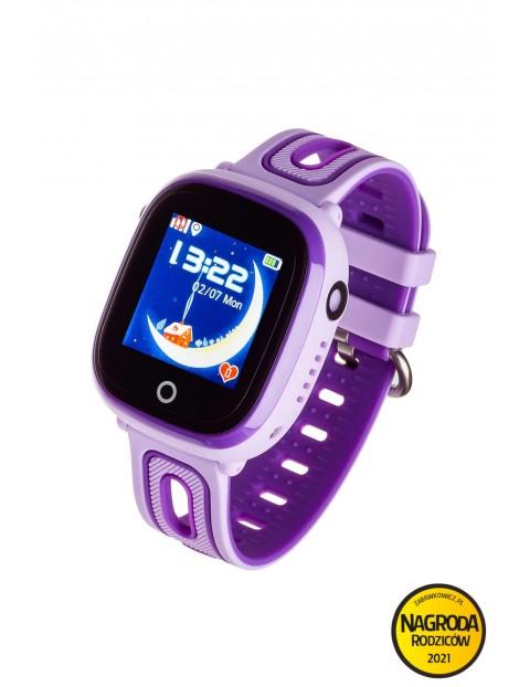 Smartwatch Garett Kids Happy fioletowy