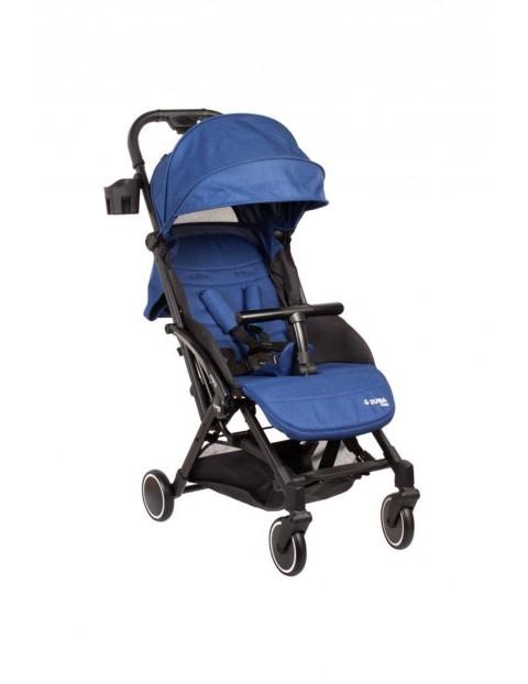 Wózek spacerowy Zuma Kids Mini-granatowy 6-36msc