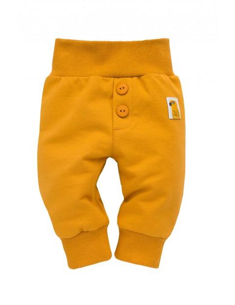 Spodnie niemowlęce żółte Nice Day