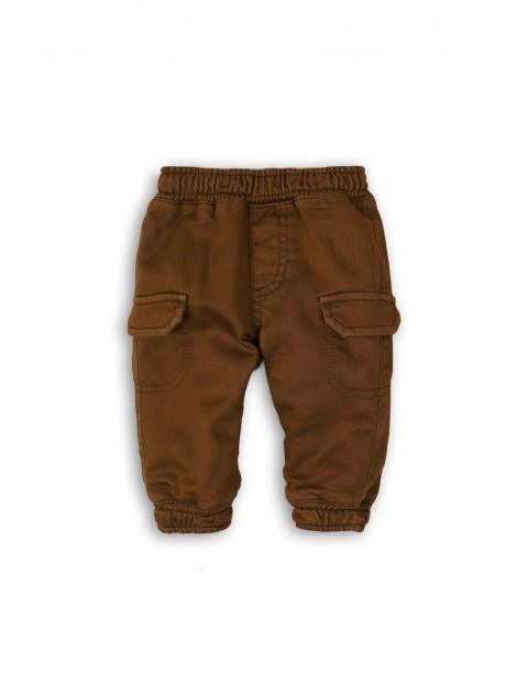 Spodnie niemowlęce z kieszeniami