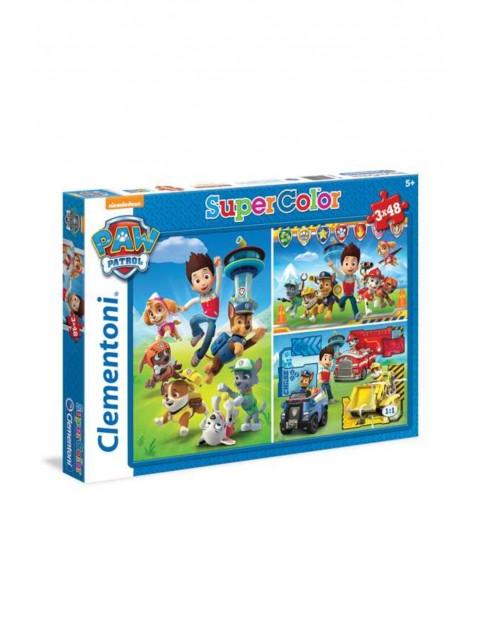 Puzzle Psi Patrol  3 x 48 elementów wiek 5_