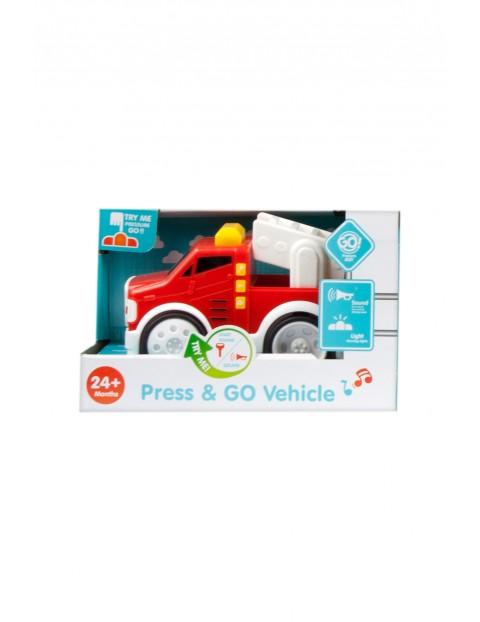 Auto wóz strażacki światło i dźwięk