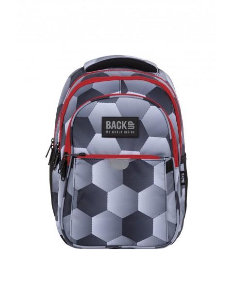 Plecak BackUp chłopięcy football