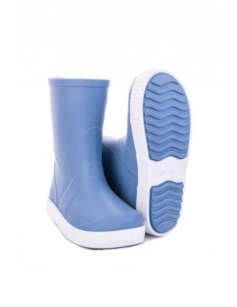Kalosze dziecięce Wave -niebieskie