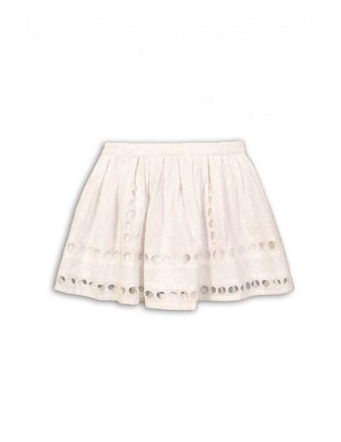 Biała spódnica dla dziewczynki