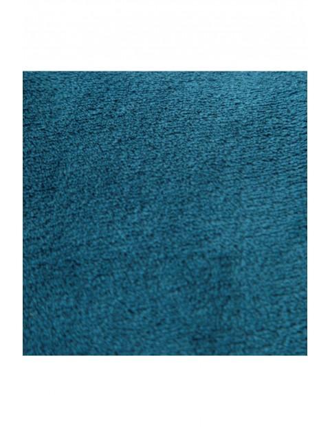 Koc z miękkiego mikroflano - niebieski - 150x200cm