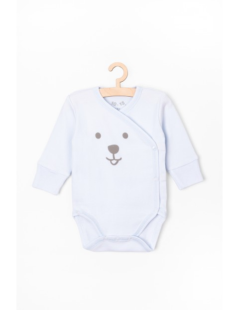 Body niemowlęce kopertowe - 100% bawełna