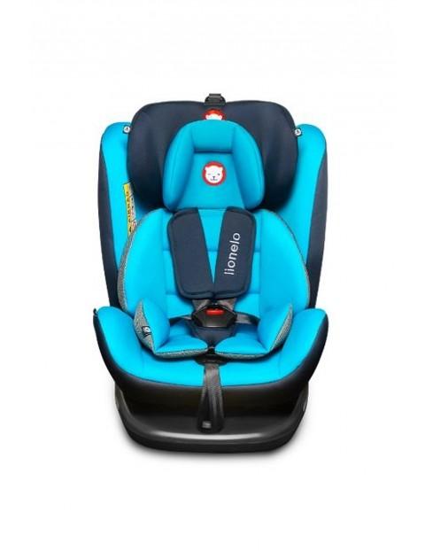 Fotelik Samochodowy Bastiaan niebieski Lionelo 0-36kg