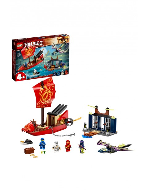 LEGO Ninjago - Ostatni lot Perły Przeznaczenia 71749- 147 elementów, wiek 4+