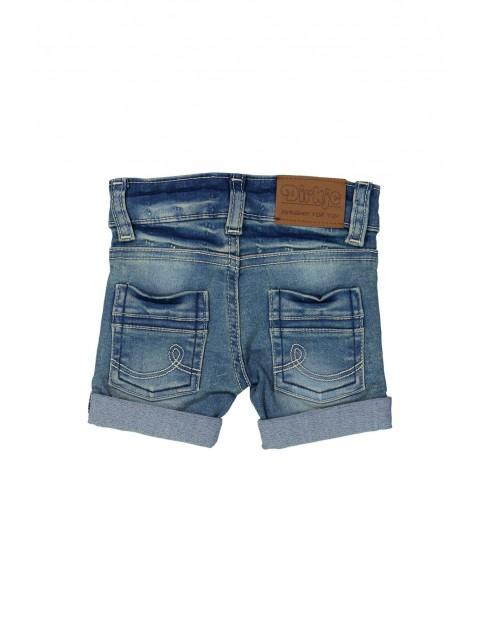 Szorty jeansowe niemowlęce- niebieskie