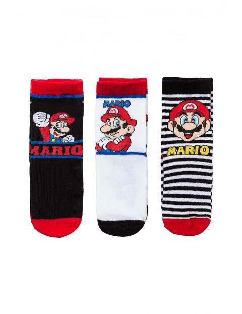 Skarpety chłopiece 3pak Mario 1V35AA