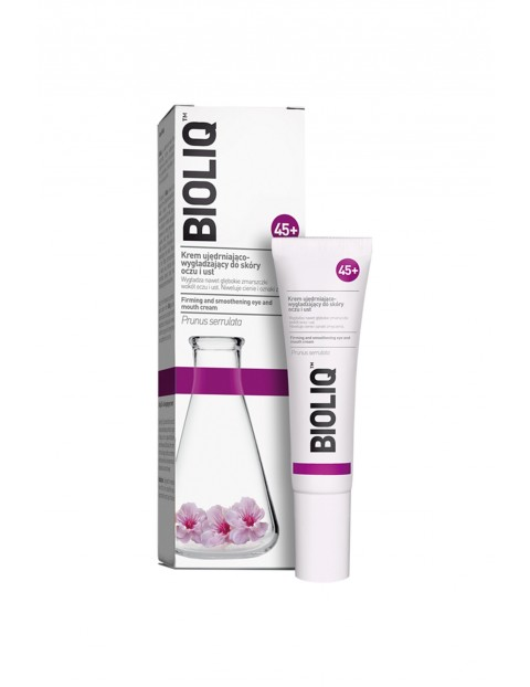 Bioliq 45+ Krem ujędrniająco-wygładzający do skóry oczu i ust 15 ml