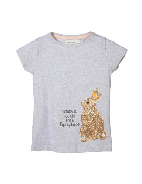 T-shirt dziewczęcy 3I3115