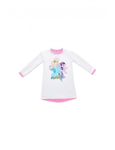 Sukienka dziewczęca Pony - szara