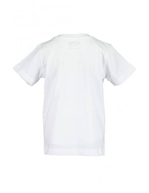 Koszulka chłopięca biała z gorylem