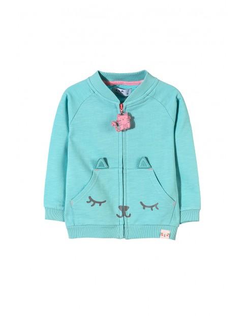 Bluza dresowa dziewczęca 3F3406