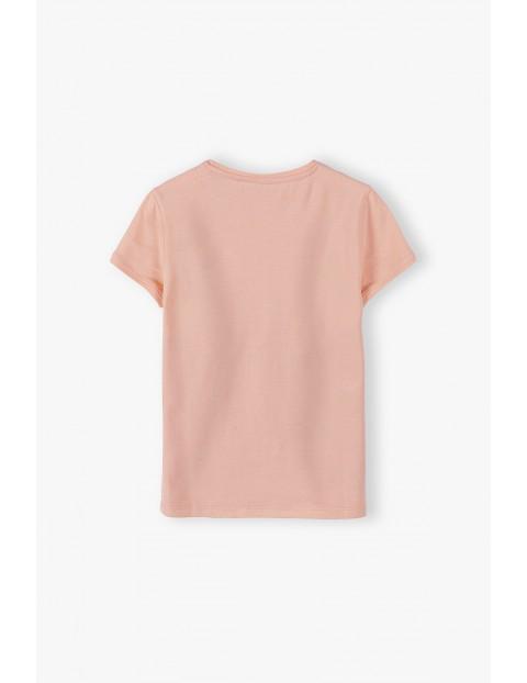T-shirt dziewczęcy z dwoma dalmatyńczykami