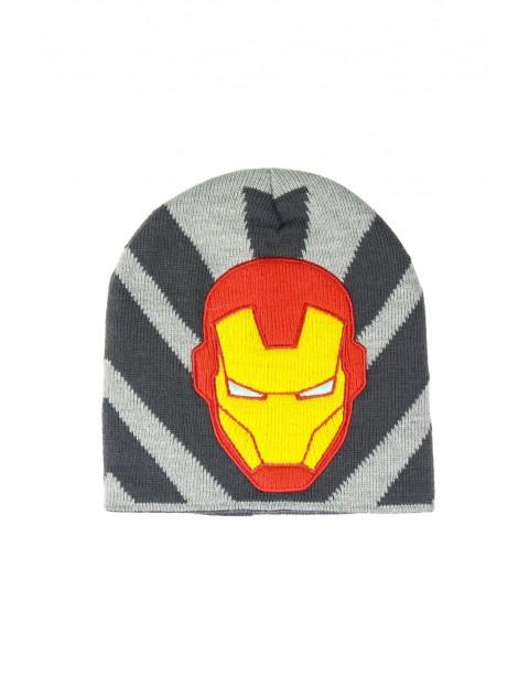 Czapka chłopięca Iron Man - rozm 52/54