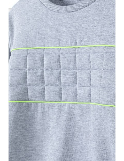 Bluza dresowa chłopięca z nadrukiem