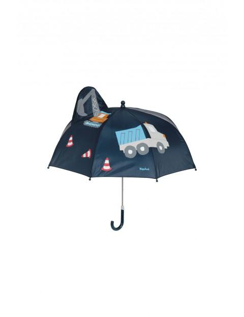 Parasol dla chłopca- koparka