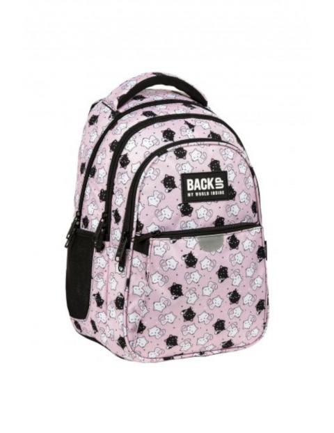 Plecak dziewczęcy Kotki Różowy