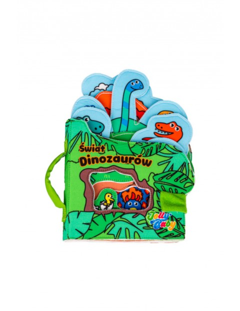 Książka dla dzieci  Świat Dinozaurów wiek 0msc+