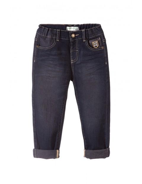 Spodnie chłopięce jeansowe 1L3408
