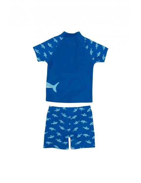 Strój kąpielowy dla chłopca z filtrem UV-rekin