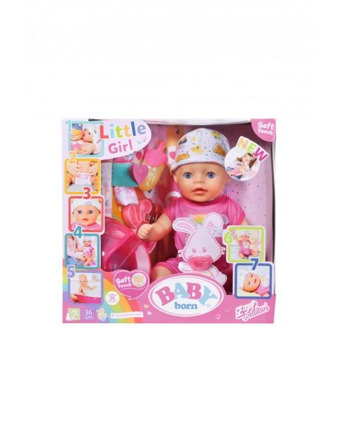 Lalka interaktywna BABY born® 36cm 2+