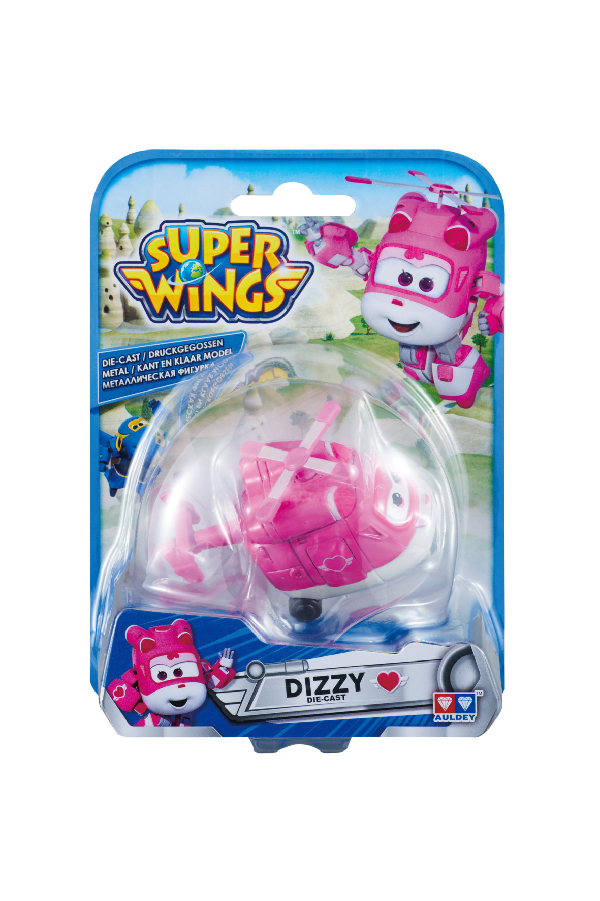 Super Wings samolot Dizzy3Y34DL