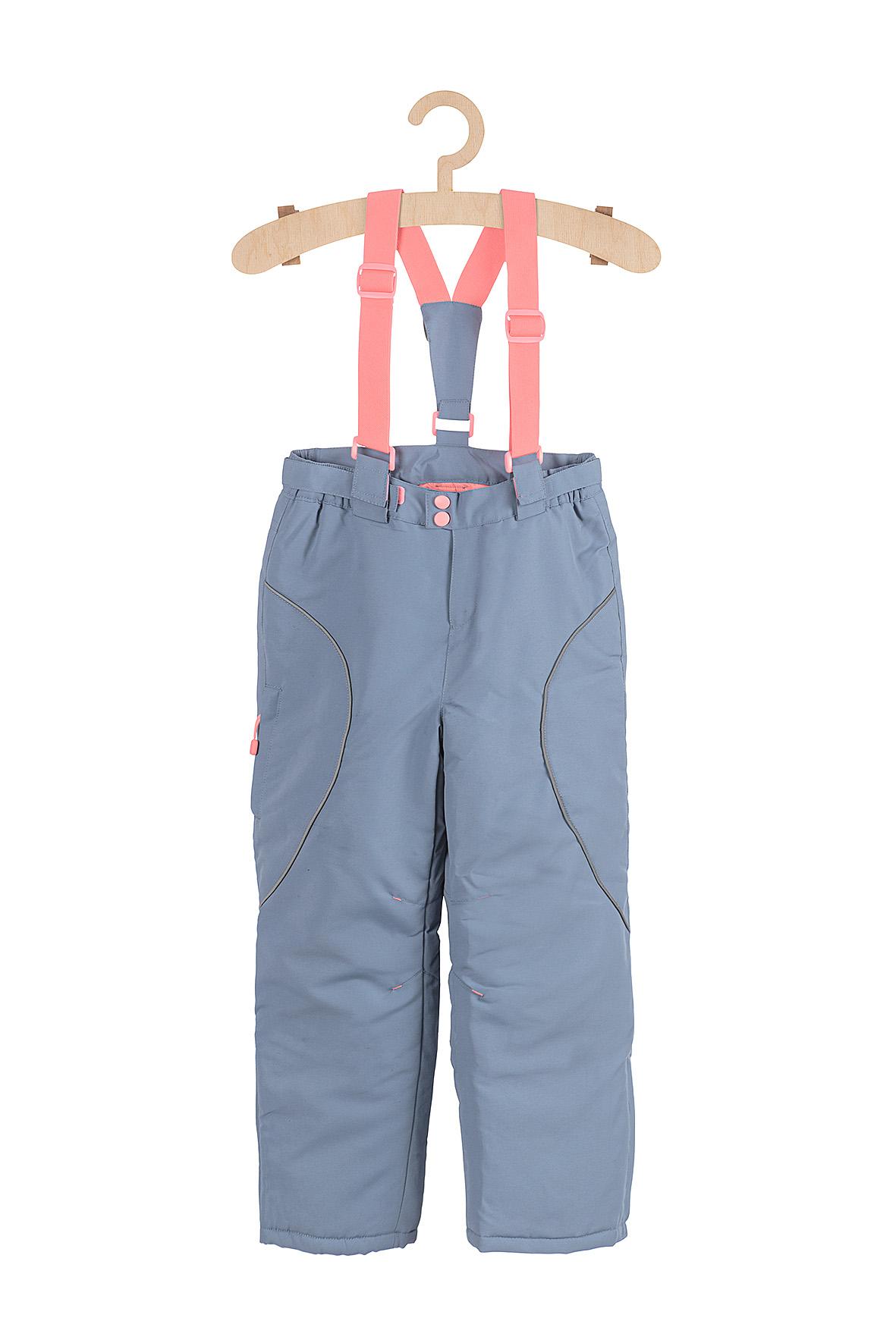 Spodnie narciarskie dziewczęce 3A3708
