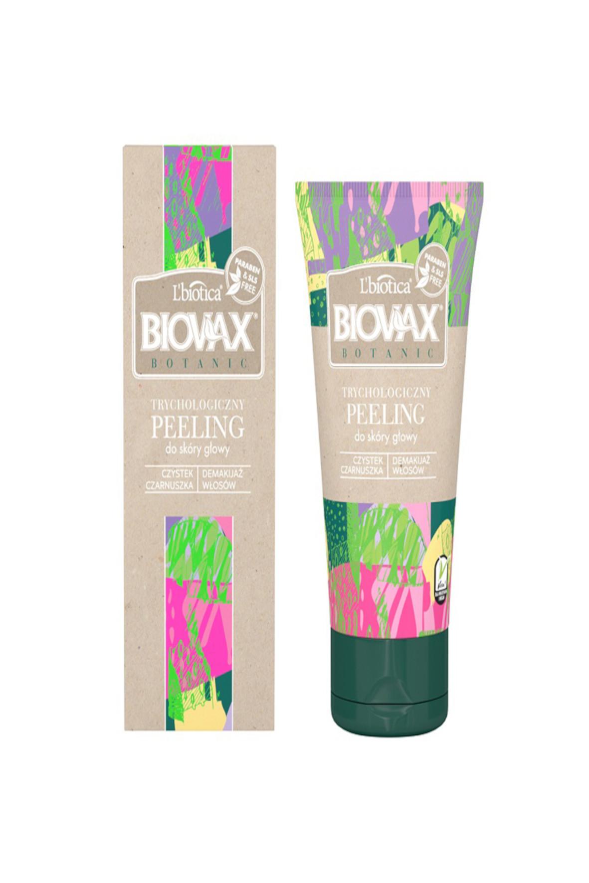 Biovax BOTANIC Peeling do głowy 8Y40UN