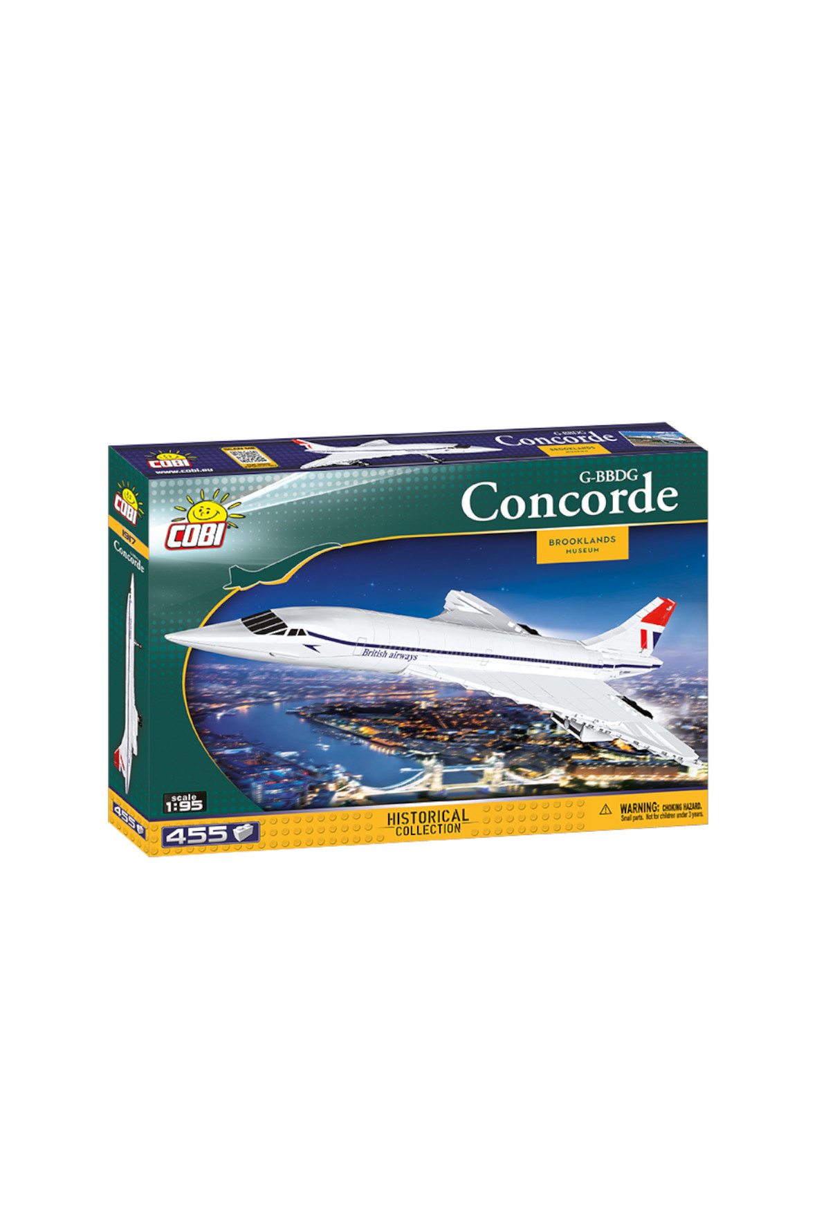 Klocki COBI Action Town Concorde 2Y38G1