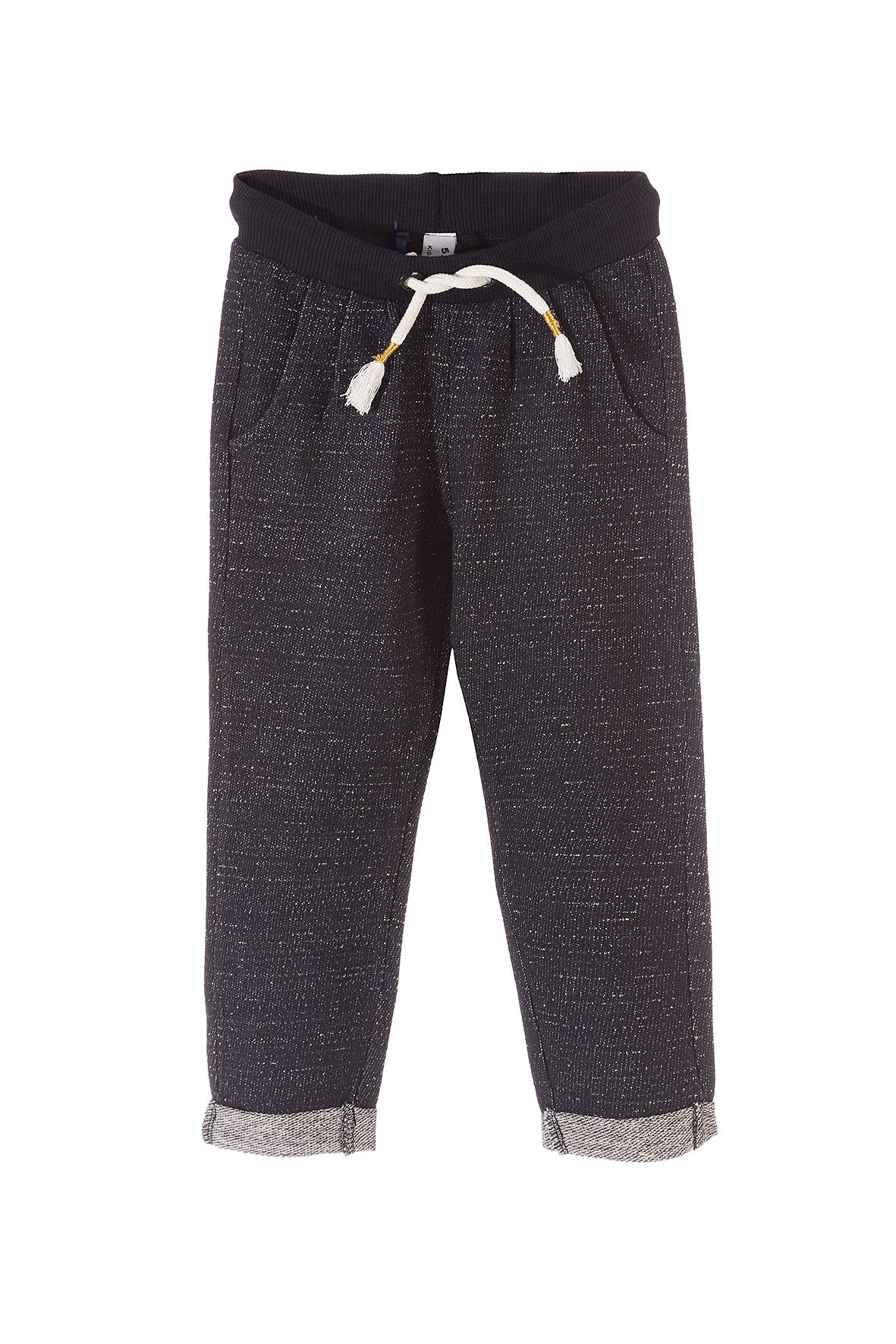 Spodnie dziewczęce dresowe 3M3526