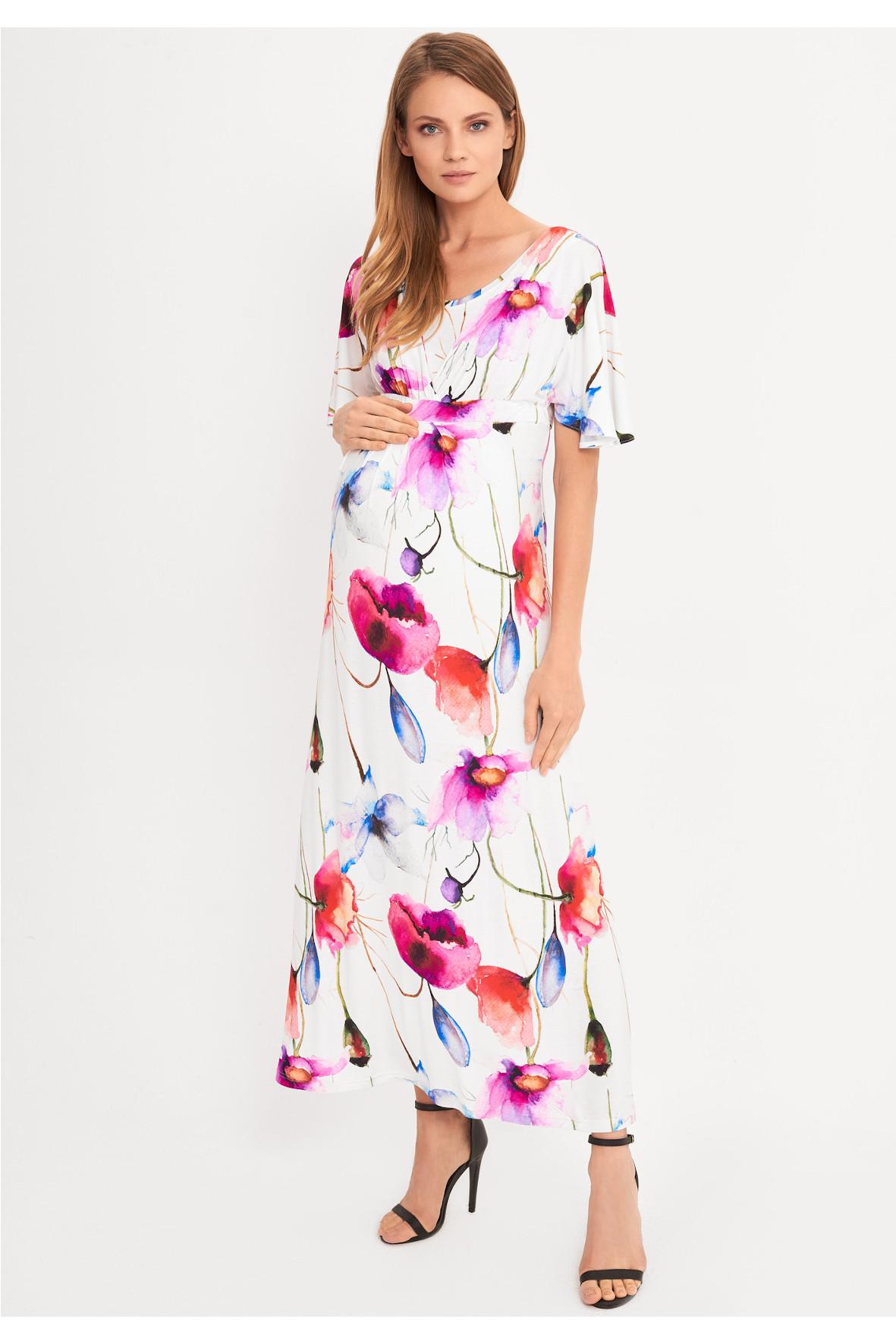 Sukienka ciążowa MAXI 5O38B3